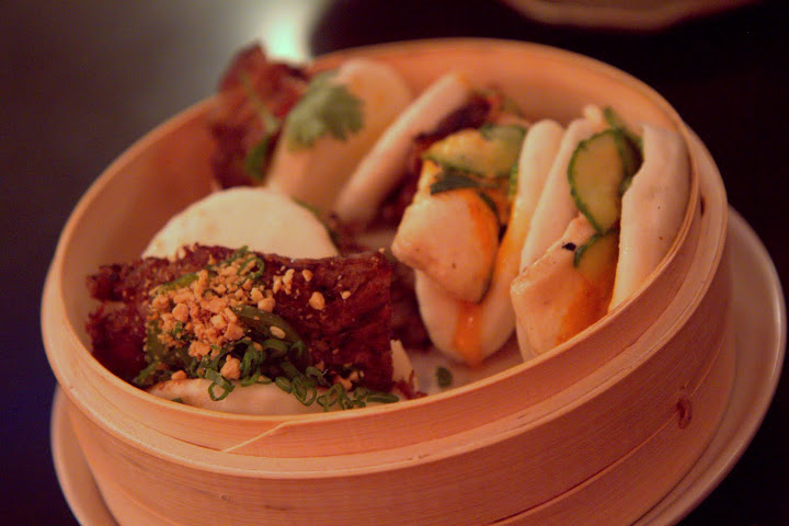 Blair Warsham's bao at American Bao Bar