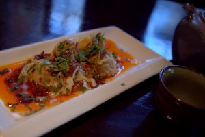 Dumplings - the one strong dish at Chinois