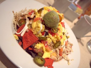 Mountainous chilaquiles