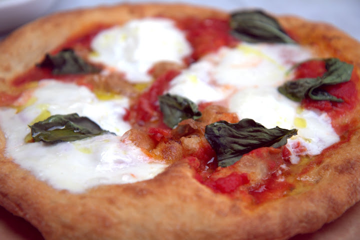 Still dreaming of A16 Rockridge's fried pizza with smoked tomato sauce