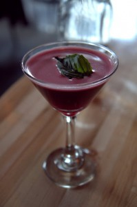 Beet Street cocktail