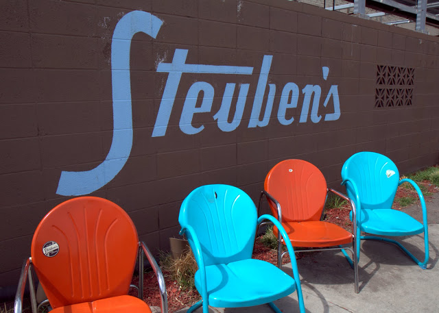 The colorful retro exuberance of Steuben's