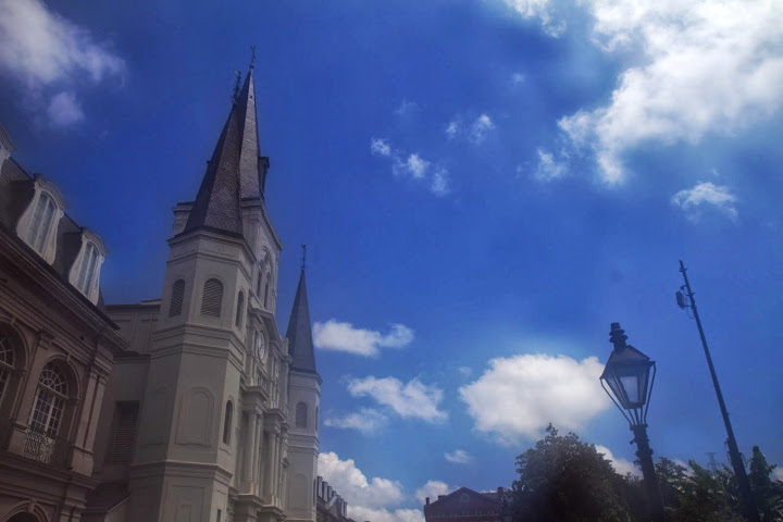 The hazy, sultry heat of New Orleans in July fogged up my camera lens
