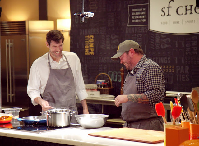 SF Chefs Sean Brock & Daniel Patterson - Virginia Miller