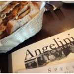 Angelini's menu