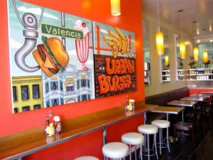 Urban Burger in the Mission