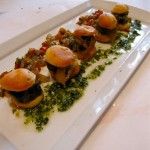 Gougere d' Escargots at Grand Cafe