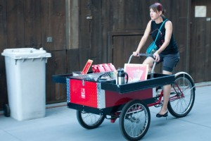 Ritual's roving coffee cart