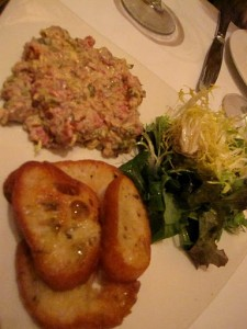 Tartare de Boeuf at Grand Cafe