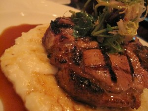 Bourbon Pork Porterhouse at Sepia