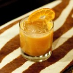 Rum, allspice dram, winter citrus