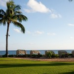 Beach coastline on Grand Hyatt property