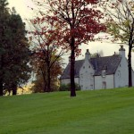 Dramatically beautiful Easter Elchies house on the Macallan grounds where I stayed in Speyside