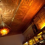 Maria's Packaged Goods' comfortable back bar in Chicago's South side