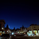 Dusk in Nevada City