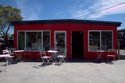 Equator Coffee's first cafe in Mill Valley