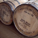 Willett Rye barrels at KBD