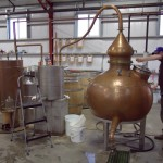 Traditional alembic still at Limestone Branch Distillery in Lebanon, KY