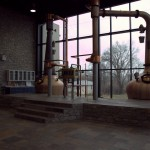 Alltech's immaculate whiskey distilling space