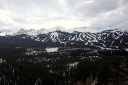 Breathtaking view from my room at The Lodge & Spa at Breckenridge