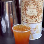 An Alembic cocktail: bourbon, chai-infused vermouth