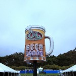 Beer Lands on the main concert field