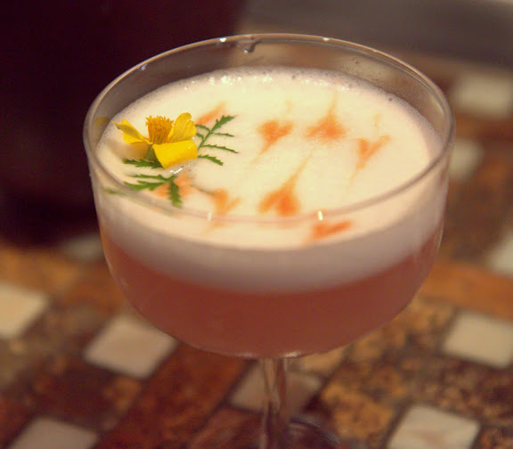 Goose & Gander's Pisco Sour Brava with Encanto Pisco