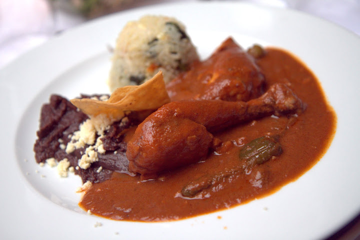 I am in love with mole... ate many different styles of mole each day in Oaxaca