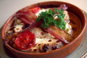 Decadent, delicious Hot Brown
