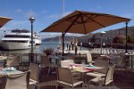 Views from the La Mar deck - an idyllic Bay-side brunch