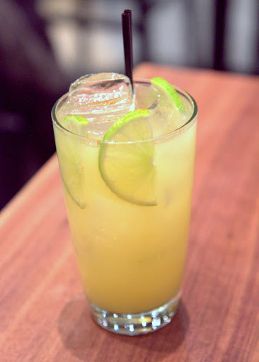Mango & Spice: rum, manila mango, cayenne, black peppercorn, long pepper, lime