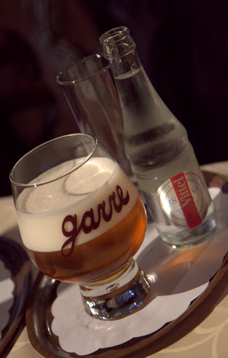 Belgian beers at La Garre