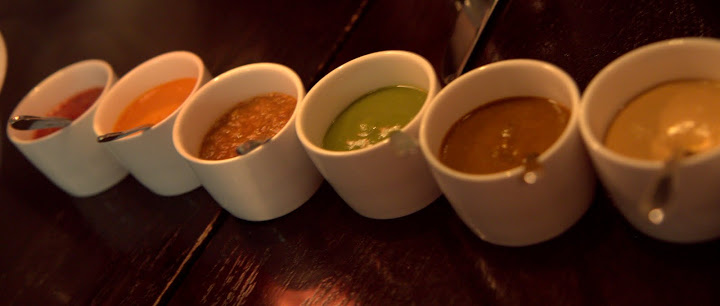 Salsa tasting at Empellon