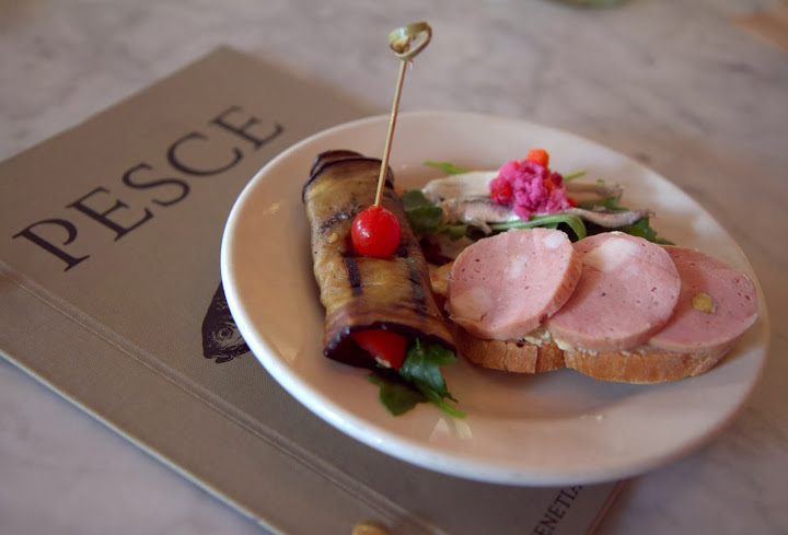 Cicchetti hour at Pesce