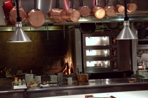Saison's kitchen hearth