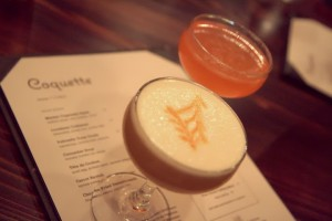 Cocktails at Coquette