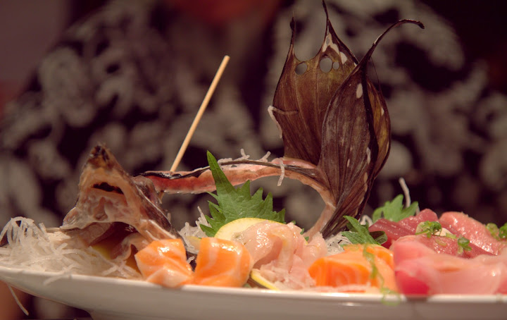 Roger's ever-wondrous sashimi platters at Zushi Puzzle
