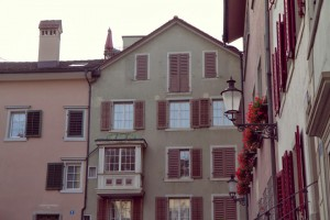 Zurich Old Town architecture