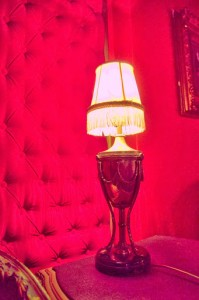 Bordello-esque red room