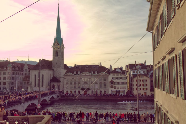 The beauty of Zurich