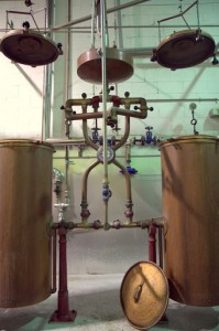 Aguardiente stills