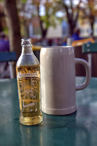 Ubiquitous Austrian soda pleasure: Almdudler, a traditional elderflower soda found everywhere in the country
