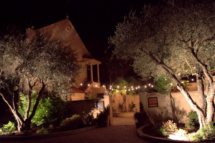 The enchanting Madones complex in the countryside of Philo houses Stone & Embers
