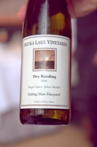 When in NY, I must have Finger Lakes Riesling