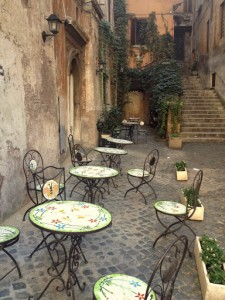 Patio at Gelateria del Teatro