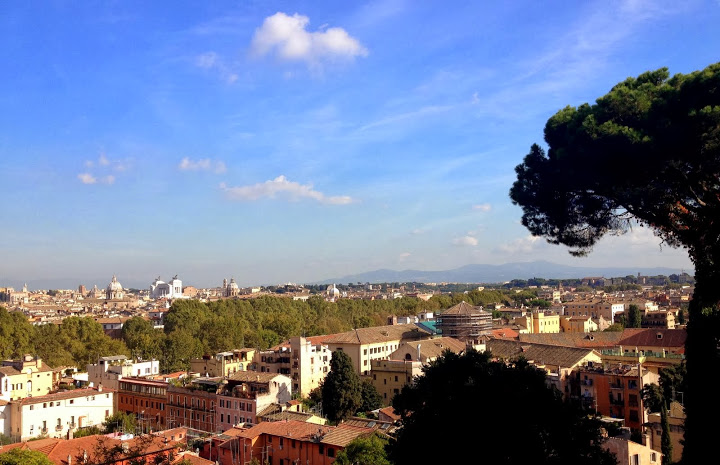 Hilltop over Rome