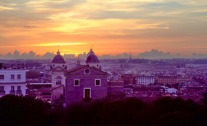 "Returning to the Eternal City... and my favorite in the world, Roma (see ""Wandering Traveler"")"