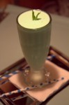 A Grasshopper shake at Pepe Le Moko in Portland