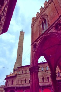 Wandering Bologna's ancient streets