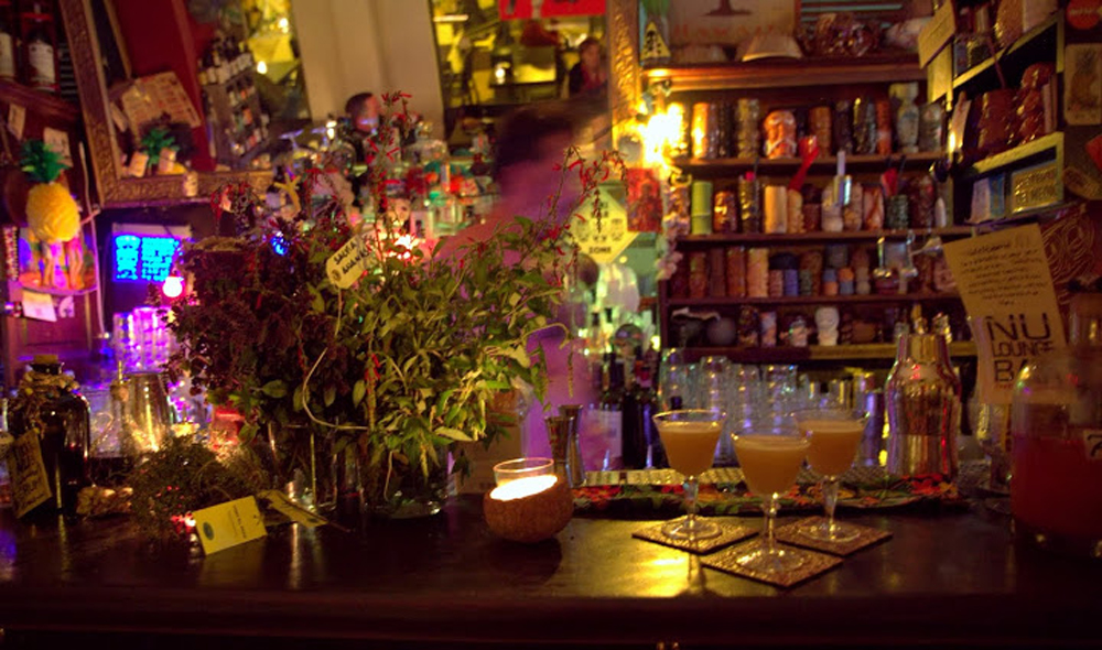 Nu Bar, an unexpected Tiki and rum haven in Bologna's medieval city centre
